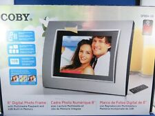 "Coby 8"" Digital Photo Frame"