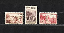 timbre France   sports et loisirs      neuf  num 345/47   *