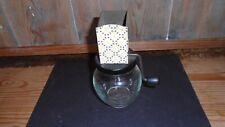 More details for primitive vintage home decor herb chopper jar mincing meat usa kitchenaila