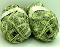 10 pelotes 60 %  coton - couleur /  changeante