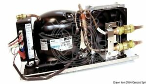 ISOTHERM refrigerating unit with evaporator