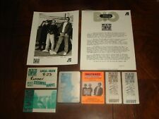 LOT of 9 BAD COMPANY 1988 PRESS KIT and CONCERT MEMORABILIA BACKSTAGE PASSES