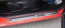 Fiesta Zetec S 2dr (08>) Stainless Steel Kick Plate Door Sill Protectors - K01X