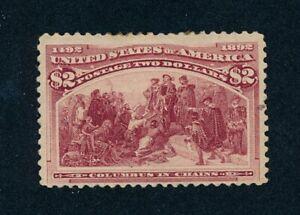 drbobstamps US Scott #242 Mint OG with Minor Faults