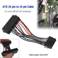 ATX 24pin to 14pin Adapter Power Cable Cord for Lenovo for IBM Q77 B75 A75 Q75