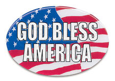 New Trailer Hitch Cover God bless America 3 1/2 x 5 Made in the USA