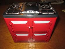 Lata de almacenamiento de cocina de diseño en relieve Aga para galletas Clavijas general de almacenamiento de cocina