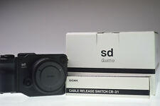 SIGMA sd Quattro Foveon X3 CMOS 29.5MP Digital Camera with CR31 Excellent+