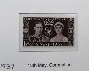 Great Britain Postage Stamp: 1937 Coronation