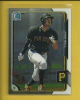 Josh Bell RC 2015 Bowman Chrome Prospects Rookie Card # BCP72 Pittsburgh Pirates