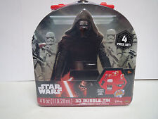 Star Wars Episode 7: The Force Awakens ~ Magic 3D Bubble Kit with Collectors Tin