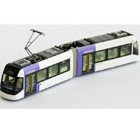Kato 14-801-2 Toyama Light Rail Tram PORTRAM TLR0607 - N