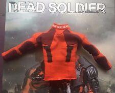 Figuras de arte muerto soldado Deadshot Naranja Superior Camisa Holgada escala 1/6th