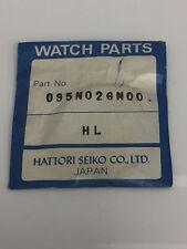 SEIKO 095N02GN00 NEW ORIGINAL GENUINE FLAT ROUND CRYSTAL 1E20 0020