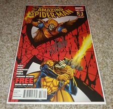 Amazing Spider-Man 696 Signed Stan Lee NM W/ COA