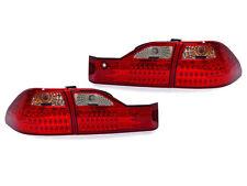 DEPO 01-02 Honda Accord 4D EX V6 Sedan JDM Red/Clear 4 Pieces LED Tail Lights