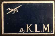 1920s Bangkok Thailand Air Letter Airmail Cover To Furth Germany Via Klm