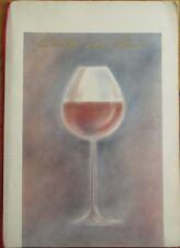 Ship Line Wine Menu - 'Croisieres Paquet' - Carte de Vin