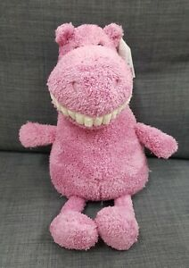 Kids Soft Toy - Jellycat Toothy Hippo - Baby Kids Birthday Present!