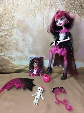 Mattel Monster High Ghouls Rule draculara Halloween Costume Doll