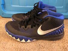 4ac9c46291cb Nike Kyrie 1 Brotherhood Duke Black blue Sz 8 Basketball Shoes!