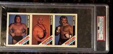 1985 Wrestling All-Stars Valentine Patera Allen Hand-Cut PSA 7 NM Card POP 1