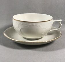 PV03380 Ivory Rosenthal Sanssouci GOLD BAND Cup and Saucer Set