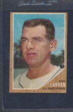 1962 Topps #033 Don Larsen Giants VG/EX *804