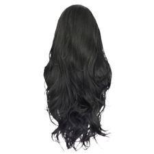 Human Hair Full Wigs Lace Front Curly Heat Resistant Daily Party with Cap