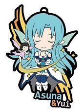 Sword Art Online Asuna GGO Rubber Phone Strap Anime Manga NEW