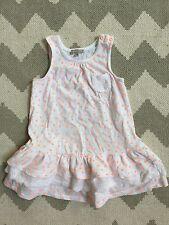 Grain De Blé (like Bonpoint) French Baby Toddler Sun Dress White Orange 24M NWOT