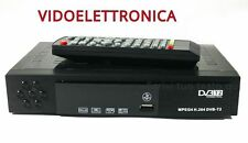 DECODER DVB-T RICEVITORE HDMI DIGITALE AUDIO MPEG4 JPEG USB HD T2 GRANDE
