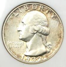 1932-D Washington Quarter 25C - Certified ANACS AU50 - Key Date Coin!