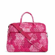 Stamped Paisley Vera Bradley Grand Traveler Carry-on Travel Luggage Overnight