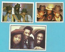 Aswad Band Black in Arabic Fab Card Collection British reggae group R&B Soul