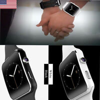 US Smart watch X6 Bluetooth Curved Display For iOS Samsung iPhone HTC Huawei