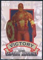 2011 Captain America Movie Posters Trading Card #P1 Victory