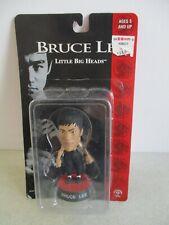 BRUCE LEE LITTLE BIG HEADS FIGURE MINT ON CARD 1998 SIDESHOW TOYS