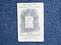 THE CHILDREN'S MAGAZINE VOL.X  NO. 5. MAY 1838 EDITED BY W.R. WHITTINGHAM  1838