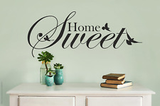 Sweet Home Quote Wall Stickers Art Room Wall Decal Art Quote Decoration