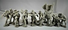 Toy Soldiers of San Diego Tssd Confederate Infantry Gray Set 1A Civil War