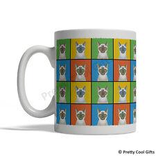 Siamese Cat Mug - Cartoon Pop-Art Coffee Tea Cup 11oz Ceramic White, Blue-Point