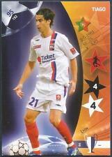 PANINI UEFA CHAMPIONS LEAGUE 2007- #095-LYON-TIAGO