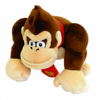 "Anime 9.5"" Super Mario Bro Donkey Kong Plush Gorilla Stuffed Doll Toy Newly"