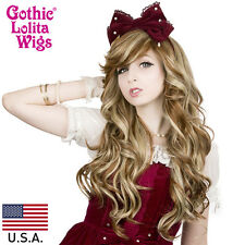 Gothic Lolita Wigs® Duplicity™ Collection - Caramelized Blonde- 00155