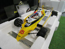 F1 RENAULT RE 20 TURBO 1980 Grand prix Autriche Jabouille 1/18 EXOTO 97092
