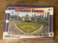 Greatest Games Detroit Tigers Comerica Park 1000 Piece Panoramic Jigsaw Puzzle