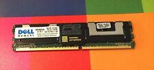 4GB lot of 8 (32GB) Dell PC2-5300F ECC 2R4 Server RAM RDIMM SNP9F035CK2 HP IBM
