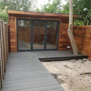 10 sqm Garden Room / Studio / Summer House / Log Cabin ONLY 4 WEEKS WAITING TIME