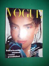 VOGUE Italia Aprile 1986 433 April Tatjana Patitz Connie Sellecca Piero Gemelli